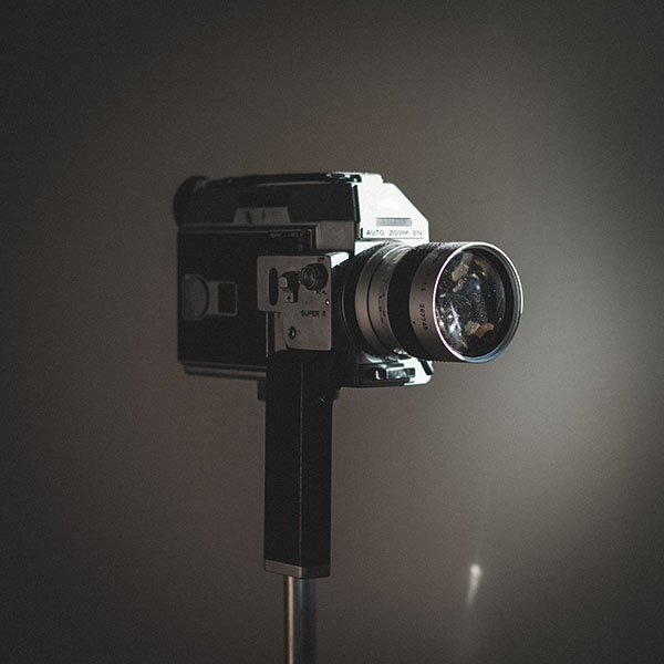 Camera used for website videos made by Web Content Development.
